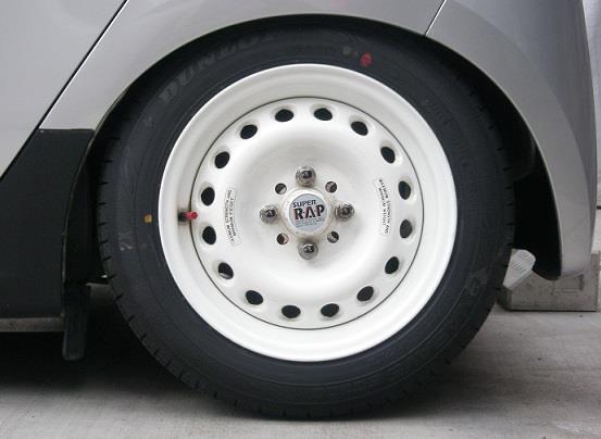 ブリヂストン スーパーラップ 14インチ 6J