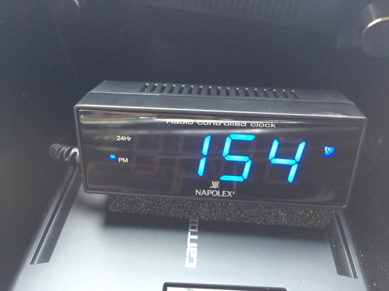 NAPOLEX Fizz-870 LED電波時計