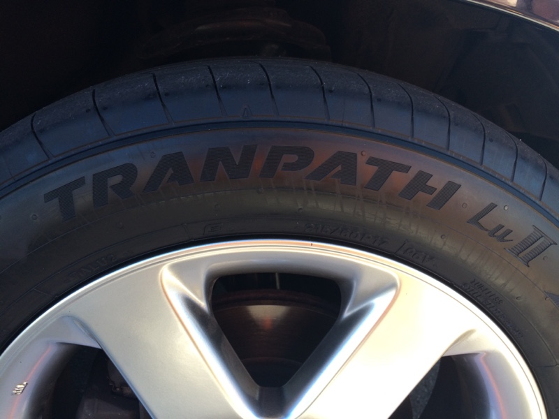 TOYO TIRES TRANPATH LuⅡ 215/60R17