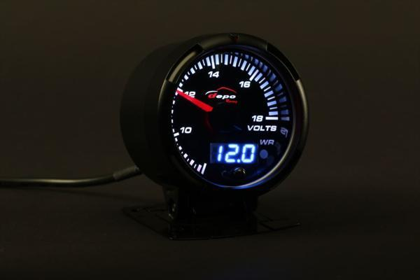 DEPO RACING SLD 60Φ 電圧計