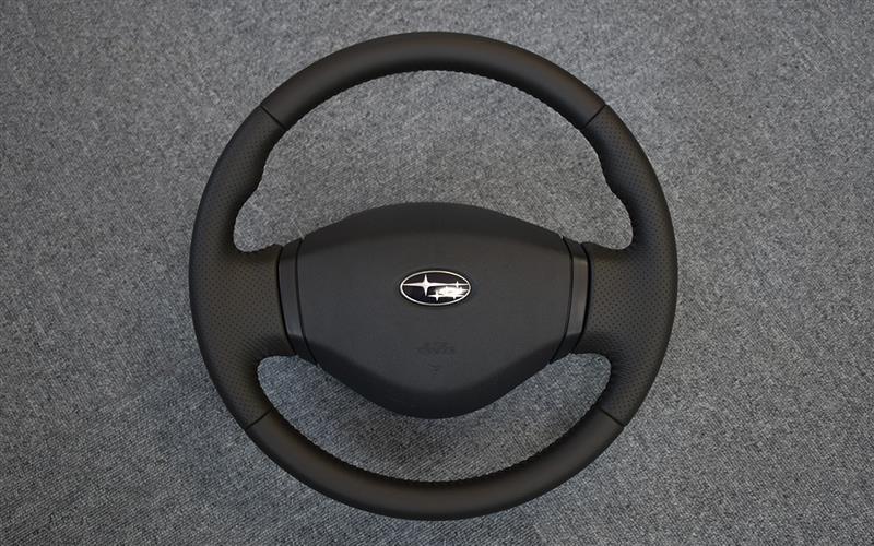 Leather Custom FIRST RN1ステラ流用カスタムステアリング