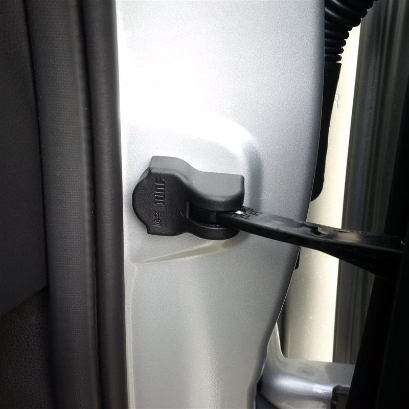 smallmotor 日産車専用 ドアヒンジ ドアストッパー 保護カバー