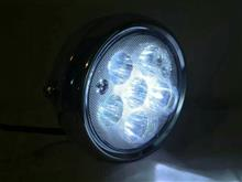 TW200E不明 バイク用LEDヘッドライトキットの全体画像