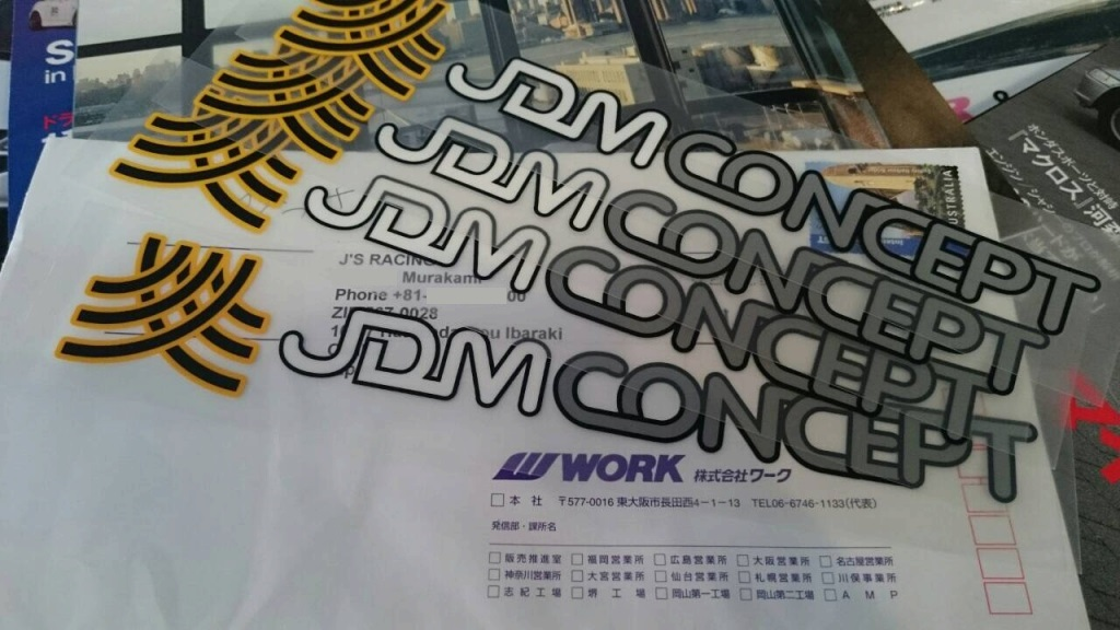 JDM CONCEPT Official Decal