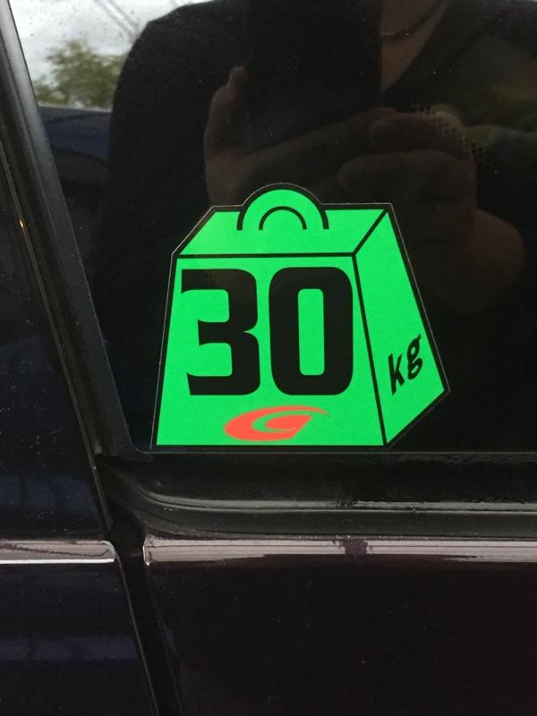 GTA Super GT ウェイトハンデステッカー