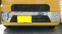 ウェイク不明 ウェイクLA700Sステンレスフロントバンパーカバーの単体画像