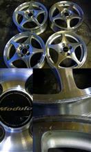 フィット3 ハイブリッドModulo / Honda Access Moduloモデューロ ホイールの単体画像