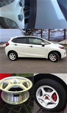 フィット3 ハイブリッドModulo / Honda Access Moduloモデューロ ホイールの全体画像