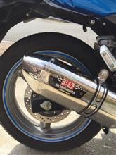 GSR250Sヨシムラ YOSHIMURA) バイクマフラー スリップオン R-77J サイクロン EXPORT SPEC 政府認証 SSS ステンレスカバー/ステンレスエンド GSR250の単体画像