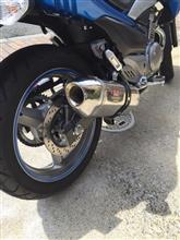 GSR250Sヨシムラ YOSHIMURA) バイクマフラー スリップオン R-77J サイクロン EXPORT SPEC 政府認証 SSS ステンレスカバー/ステンレスエンド GSR250の全体画像