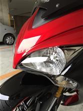 GSX-S1000F ABSIMPACT インパクト バイク用LEDヘッドライト H4/H7用の単体画像
