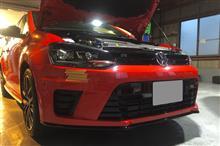 ポロVW  / フォルクスワーゲン純正 POLO R WRC Street バンパーの単体画像