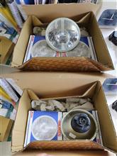 スバル360KOITO / 小糸製作所 丸形2灯用ヘッドランプの単体画像