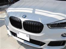 X1BMW(純正) BMW Performance ブラックキドニーグリルの単体画像