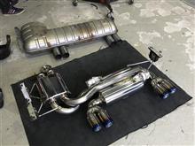 M3 クーペPower Craft ハイブリッドエキゾーストマフラーシステムの単体画像