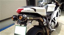 848Two Brothers Racing デュアル スリップオン/M2 カーボンサイレンサーの全体画像