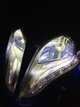 レーシングキング 180FiSphere Light 20W LEDヘッドライトコンバージョンキッド H4 6000Kの単体画像