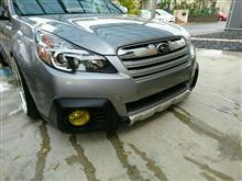 レガシィ アウトバックUS Subaru genuine parts Front bumper coverの全体画像
