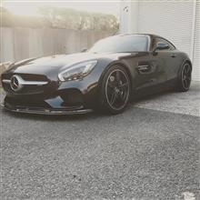 AMG GTKohlenstoff Front carbon spoiler/ lip spoilerの単体画像