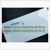 BMW(純正) M performance  new logoステッカー