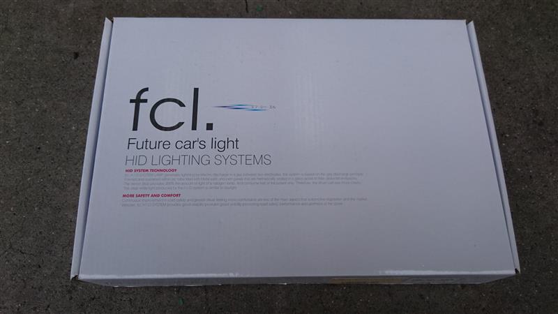 fcl 25W HIDコンバージョンキット(H8/H11/H16) 6000K