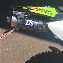 XR50 モタードTTS センターマフラーの全体画像