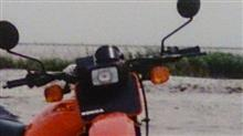 XL250SHRC XR250用ヘッドライトの単体画像
