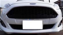 フィエスタフォード(純正) フォード(純正) Sport Radiator Grill(top)の全体画像