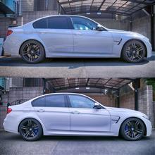 M3 セダン3D Design 車高調整式サスペンションシステムの全体画像