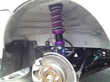 キャリイGT CAR プロデュース 上げられる車高調 タイプU [4251U-1050 ktv-360]の全体画像