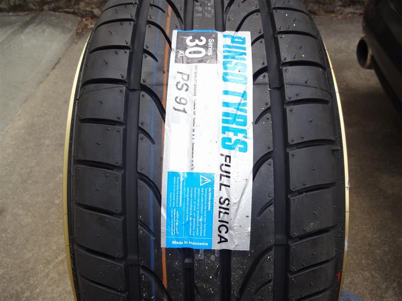 インドネシアタイヤメーカー Pinso Tyres PS-91 のパーツレビュー ...