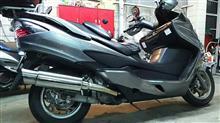 スカイウェイブ400浅倉商事 GTタイプマフラー250用の単体画像