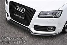 A5 スポーツバックGIALLA GARBINO GARBINO フロントリップスポイラーの全体画像