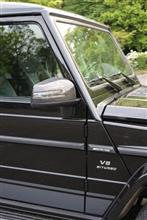 GクラスAMG(純正) AMG Carbon molding trim kitの全体画像