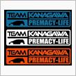 PREMACY-LIFE    TEAM KANAGAWA オリジナル ステッカー2014