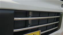 NV100クリッパー リオSAMURAI PRODUCE  DA17W スズキ フロント バンパー グリル ガーニッシュ 3P ステンレス鏡面仕上げの単体画像