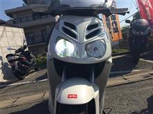 スポーツシティキューブ 250ieM-SOUL / 634 LEDヘッドライトHYPER H7の全体画像