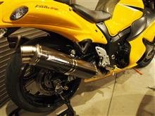 GSX1300R HAYABUSA (ハヤブサ)ヨシムラ チタン機械曲 Tri-Oval トライオーバルサイクロン 2本出し 2エンド  TCの単体画像