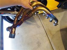 GSX1300R HAYABUSA (ハヤブサ)ヨシムラ チタン機械曲 Tri-Oval トライオーバルサイクロン 2本出し 2エンド  TCの全体画像