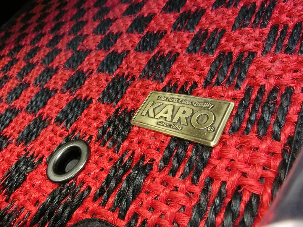 KARO SISAL/シザル SISAL レッド/ブラック