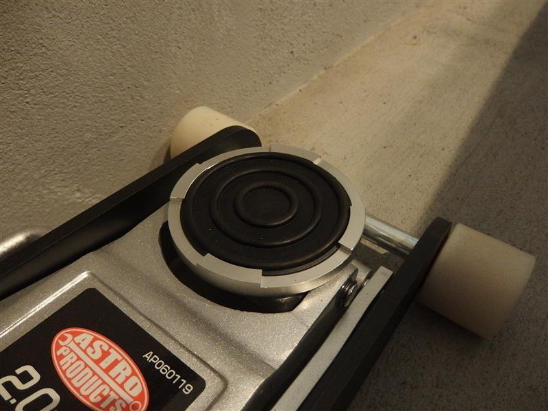 STRAIGHT / TOOL COMPANY STRAIGHT ジャッキパッド (15-881ガレージジャッキ低床タイプ 2.7t用)