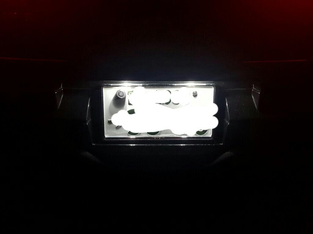 まめ電 T10 LED ホワイト 白 5050 3チップ 5連SMD  ナンバー (ウェッジ シングル)