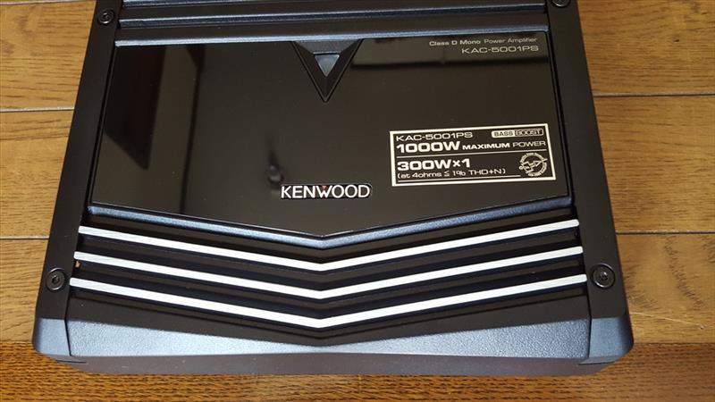 KENWOOD モノラルアンプ KAC-5001PS