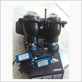 RAYD LEDヘッドライト  RAYD LEDヘッドライト 原付交流取付可能 HI/LO15w/8w切替