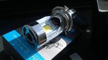 セロー225WEe-auto fun LEDヘッドライトの全体画像