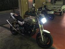 XJR1200信玄 バイク用HID H4 35w 6000kの単体画像