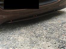 MRワゴン自作 フロント アンダーフラップの単体画像