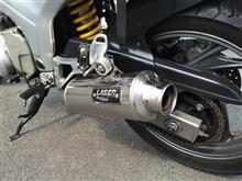 TDM850Laser exhaust Laser prostockの全体画像