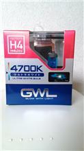 V-TWIN マグナミラーリード GWLウルトラホワイトバルブH4 4700Kの単体画像