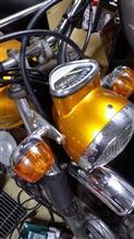CD90ホンダ(純正) DAXヘッドライト ダイキャスト製の単体画像